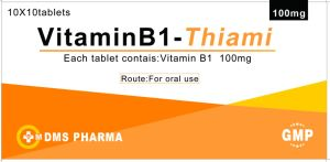 Vitamin B1 Tablets 100mg GMP Cetificed pictures & photos