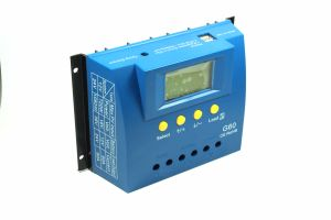 60A 12V/24V Solar Panel Cell PV of Charge Controller with Backlight and Full Display G60 pictures & photos