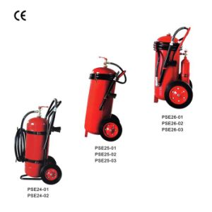 Dry Powder and Foam Wheeled Fire Extinguisher (CE) pictures & photos