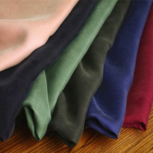 Wholesale Rayon Viscose Polyester Imitation Cupro Fabric for Garment