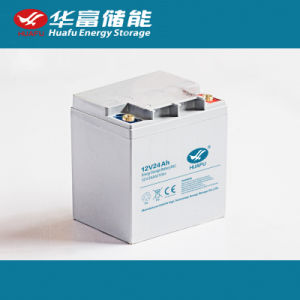 12V24ah Energy Storage Battery for UPS pictures & photos