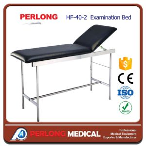New Arrival Stainless Steel Examination Bed Hb-40-2 pictures & photos