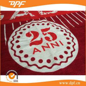 100% Eco-Friendly Cotton Velour Beach Towel From Factory (DPF2427) pictures & photos