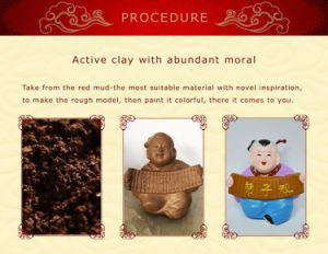 Craft of Handicraft-Colorful Clay pictures & photos