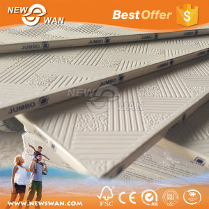 Vinyl Coated Gypsum Ceiling Tiles / Gypsum Ceiling Board Sizes pictures & photos