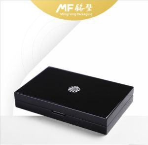 Modern Fashion Black PU Varnish MDF Functional Gift Box pictures & photos