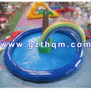 PVC Tarpaulin Inflatable Water Pool/Inflatable Coco Tree Swimming Pool pictures & photos
