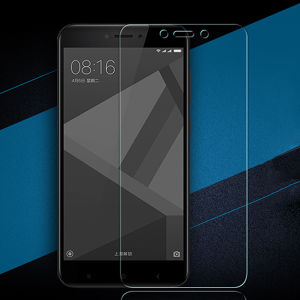 Clear Full Cover Tempered Glass Screen Protector for Xiaomi Redmi 4X