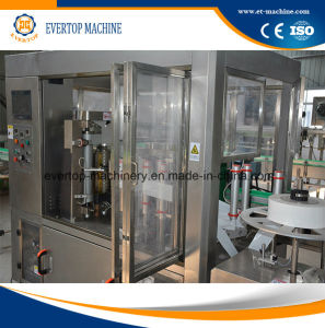 PLC Screen Control Automatic Sleeve Shrinking Labeling Machine/Equipment pictures & photos