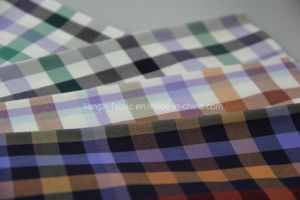 Twisted Yarn Cotton Check Fabric pictures & photos