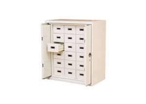 Steel Safe Office Furniture with Fileproof and 2 Retractable Doors Filing Cabinet /Strongbox pictures & photos