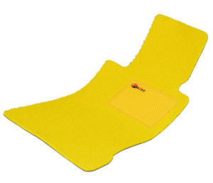Car Mat Flat Foot Loop Pile PP Fiber Carpet Yellow pictures & photos