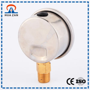 High Standard Oil Filled Mechanical Pressure Meter Oil Pressure Gauge Low Price pictures & photos