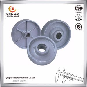 OEM Wrought Iron Pulley Wheel Grey Iron Cast Wheel pictures & photos