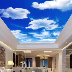 Blue Sky White Clouds Printed PVC Ceilings Soft Film pictures & photos