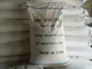 High Quality Industrial Grade 96% Zinc Chloride for Flux Industry From China pictures & photos