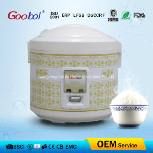 Electric Rice Cooker with Hiden Handle Design Characteristic Flower Design pictures & photos