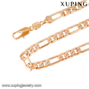 43194 Fashion Gold Jewelry Copper Alloy Men Necklace Chain in 60 Cm pictures & photos