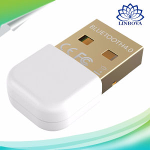 Portable Wireless Mini USB 4.0 Bluetooth Adapter Dongle for Android Phone/Tablet/PC pictures & photos