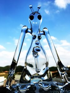 Wholesale 6 Inch Mini Small Glass Art Water Pipe pictures & photos