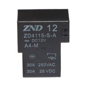 Zd4115 (T90) Power Relay for Household Appliances &Industrial Use 30A Contact Switch pictures & photos