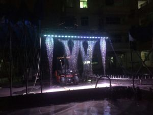 Special Design Decorative Garden with Colorful LED Light Indoor or Outdoor Water Curtain pictures & photos