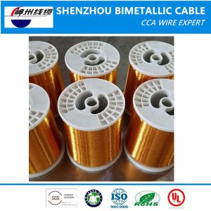 Factory Price Leading Quality Enameled Copper Coated Clad Aluminium Wire 130-220 Degree pictures & photos