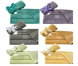 Cotton Bath Towel Set Promotion, Colorful Household Towel Gift