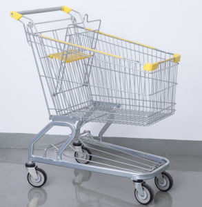 Store Metal Shopping Cart Trolley pictures & photos