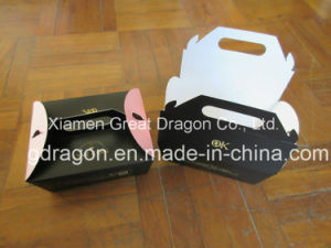 Kraft Paper Take-out Food Box (TB17002) pictures & photos