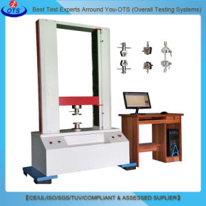 Vertical Universal Servo Motor Tensile Strength Deformation Testing Machine for Rubber pictures & photos