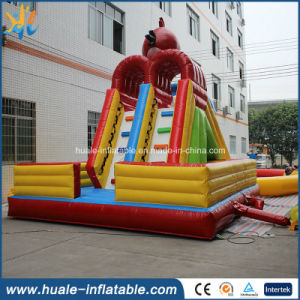 Inflatable Water Slide with Water Pool, Commercial Rentals Waterslide for Fun pictures & photos