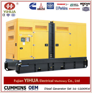 300kw Silent Diesel Generator Set with Cummins Engine pictures & photos