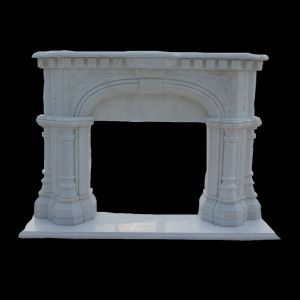 Marble Fireplace Mantel pictures & photos