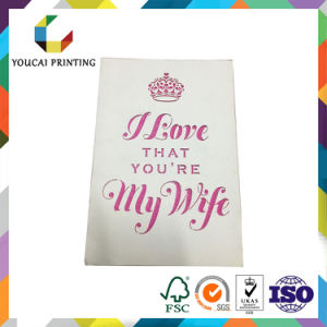 Factory Price Valentine′s Greeting Card