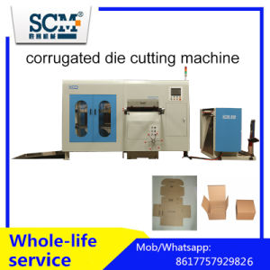 Automatic Die Cutting Machine for Corrugated Board pictures & photos