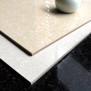 600X600mm Glossy Pulati Double Loading Vitrified Porcelain Floor Tile (6806) pictures & photos