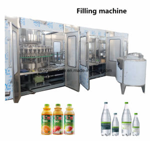 2017 New technology Pet Bottle Flavored Energy Tea Drinks Washing/Filling/Capping 3-in-1 Unit Machine pictures & photos