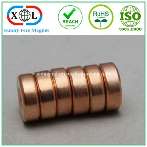 Copper Cu Surface Plating Permanent Magnet pictures & photos