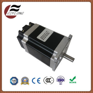 Small Vibration NEMA34 Stepping Motor for CNC Embroidering Machines pictures & photos