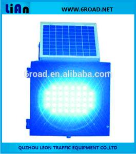 Solar Power Traffic Flashing Warning Signal Light, 300mm-400mm pictures & photos