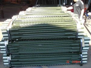 High Quality Rail Steel, Carbon Steel Studded T Post / T Fence Post / Price Metal T Post for Construction, Ranch pictures & photos