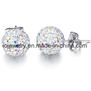 Fashion Jewelry Steel Single Ball 8mm Stud Earring pictures & photos