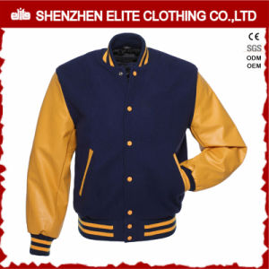 Wholesale Custom Embroidery Cotton Varsity Jacket Men (ELTBQJ-531) pictures & photos