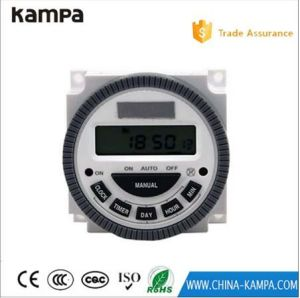 AC 220V-240V Digital LCD Power Timer Programmable 16A Time Switch Relay Easy Wiring pictures & photos