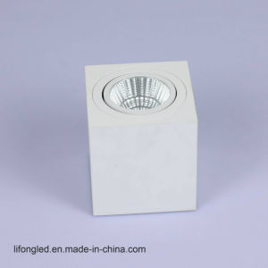 Surface Mounted Installation Square 7W COB LED Downlight pictures & photos
