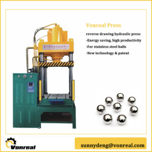Four Column Hydraulic Press with Reverse Drawing Double Cylinder pictures & photos