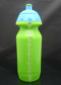 600ml BPA Free Sports Plastic Water Bottle with Scale Value (R-1128) pictures & photos