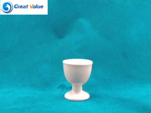 Plain White Paitable Ceramic Porcelain Enamel Cup Egg Cup pictures & photos