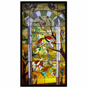 China Wholesale Stained Glass Panels Room Dividers Screens Window pictures & photos